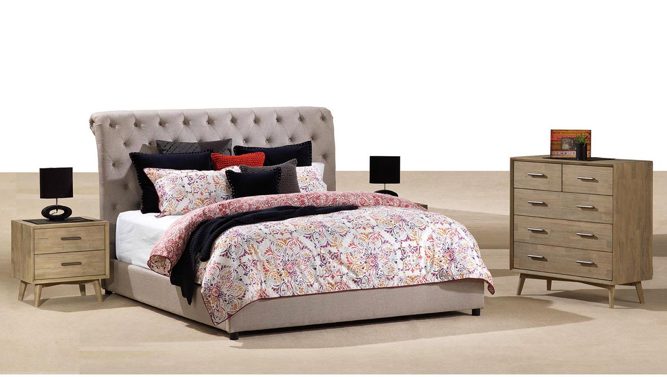 Upholstered Storage Bed Uk